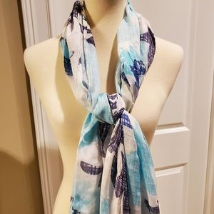 NWT Chico's light spring scarf
